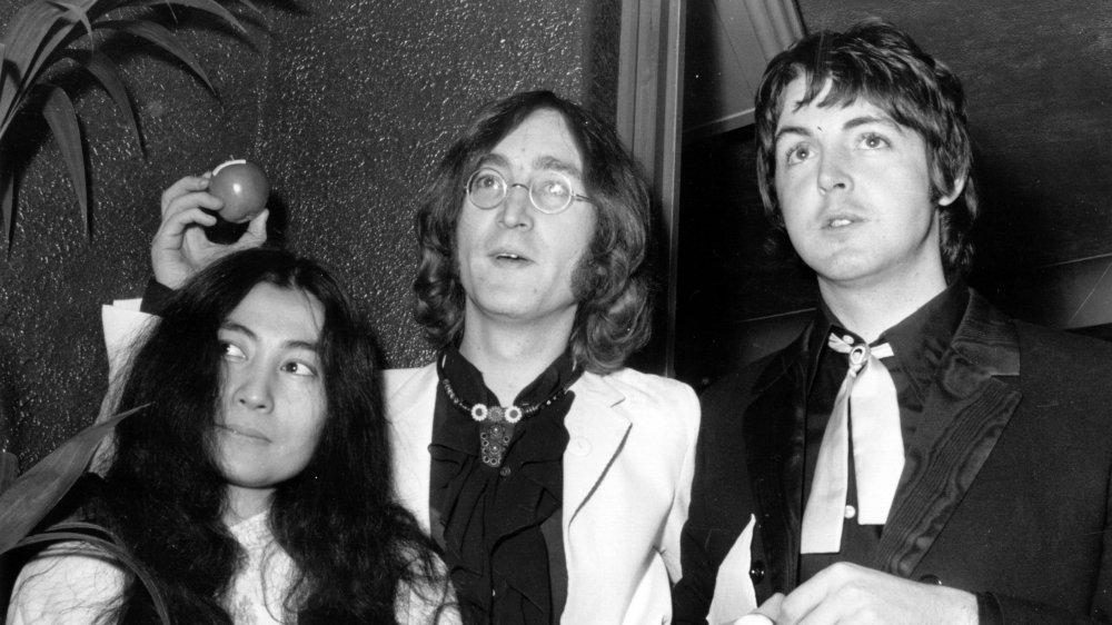 John Lennon Paul McCartney Yoko Ono