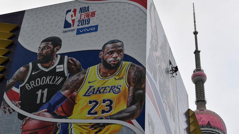 China, NBA, Lebron James