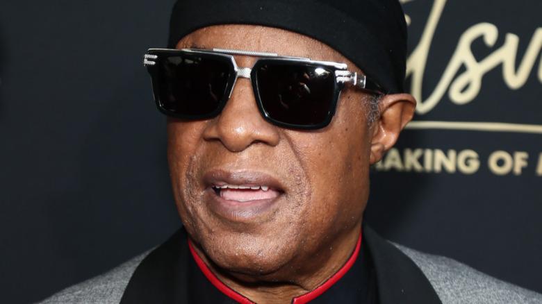 Singer Stevie Wonder
