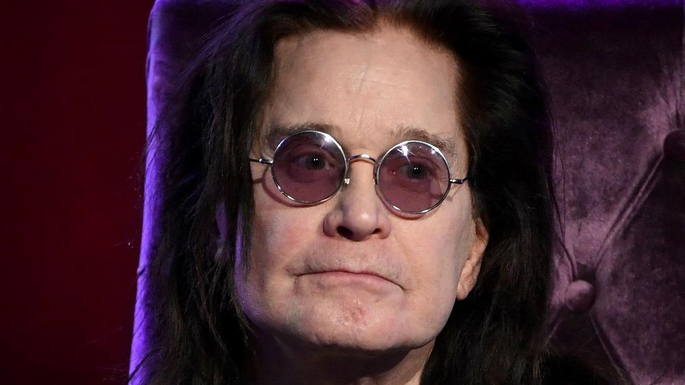 Ozzy Osbourne close-up