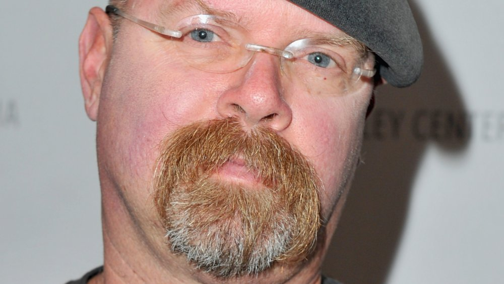 A close-up image of MythBusters' Jamie Hyneman