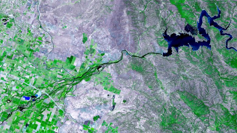 satelite image earth