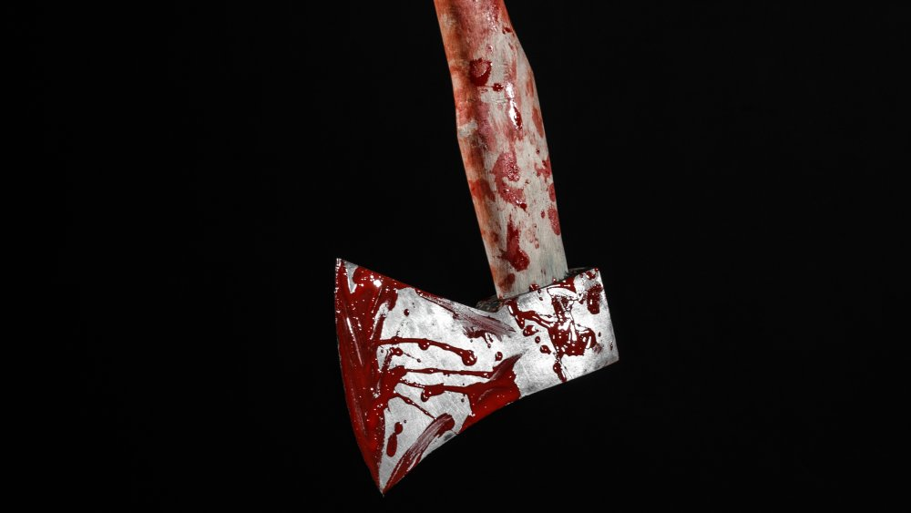 bloody axe