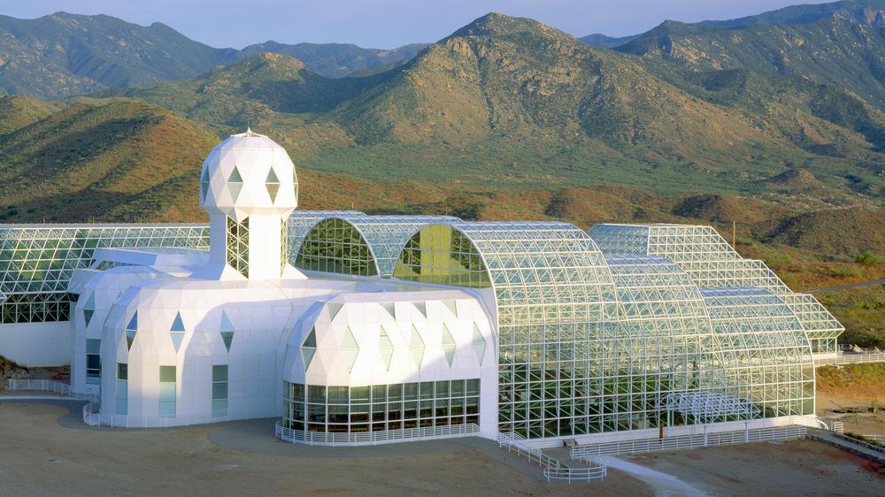 biosphere 2 arizona mountains