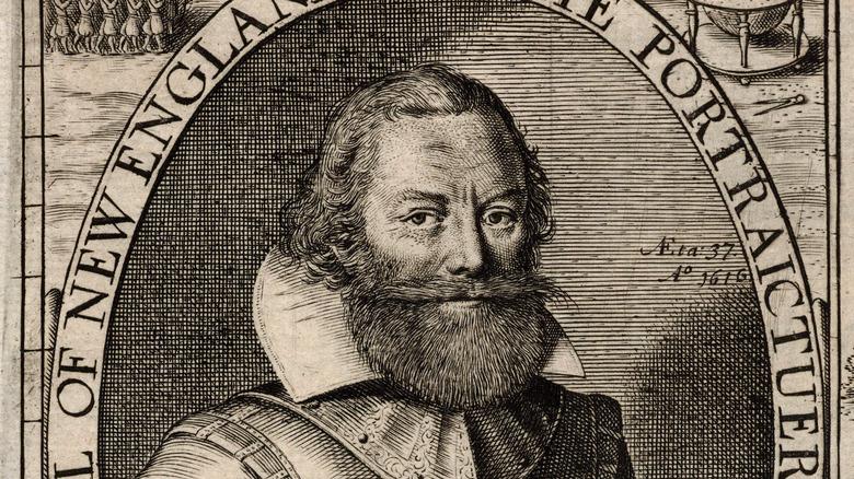 portrait of John Smith, approximately 1624