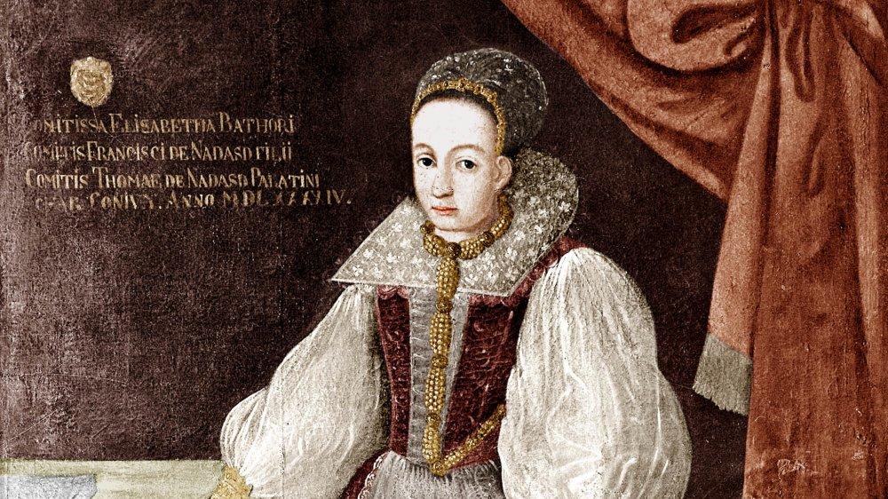 17th century portrait of Elizabeth Báthory