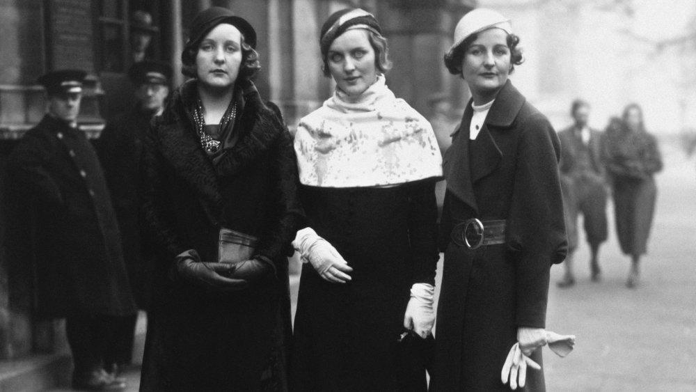 Unity, Diana, and Nancy Mitford