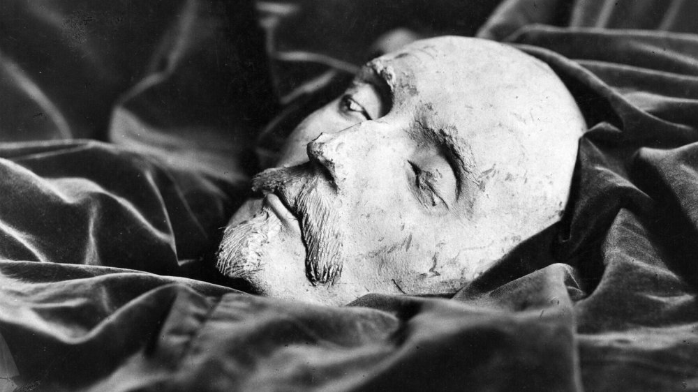 William Shakespeare death mask