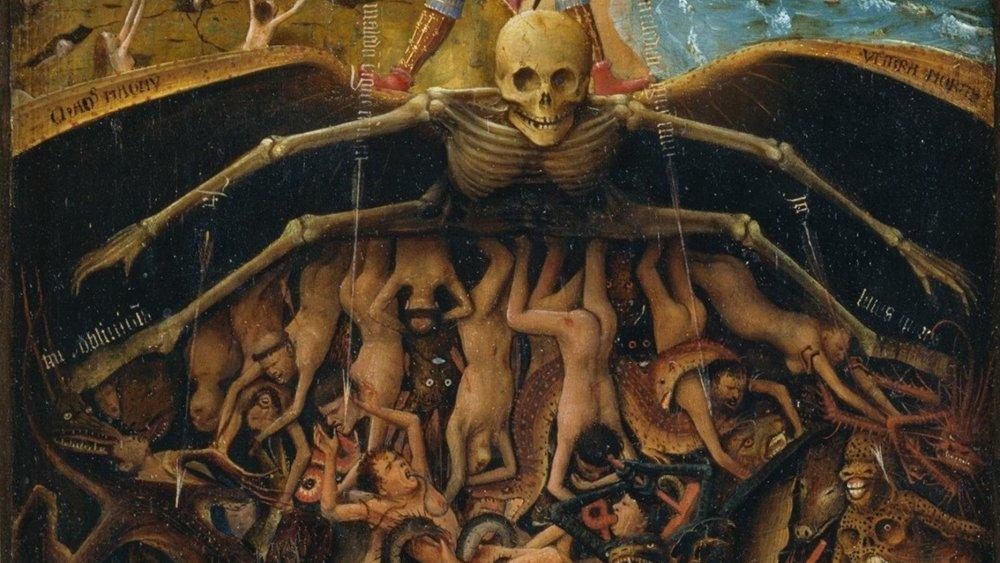 The Last Judgement by Jan Van Eyck, created between 1400 and 1425