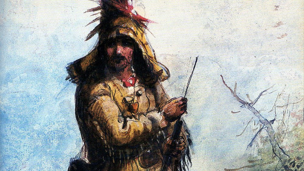 A fur trapper