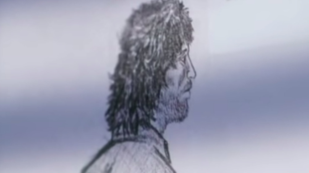 Sketch of Pembrokeshire murderer John Cooper