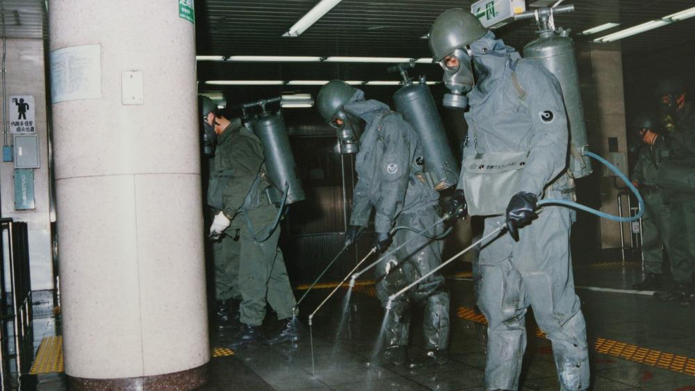 Tokyo subway sarin-gas attack