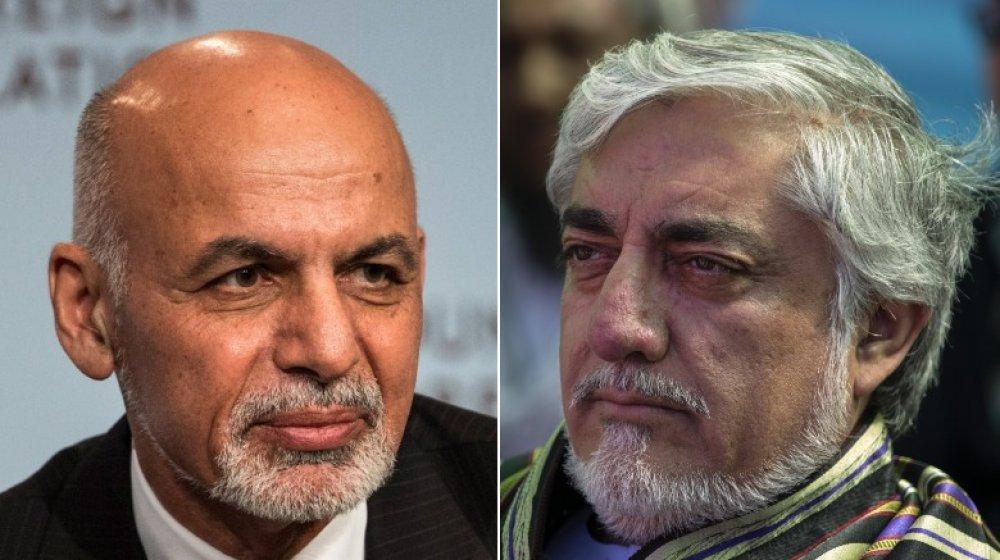 Ashraf Ghani and Abdullah Abdulla