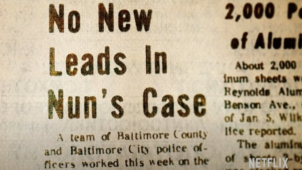 Newspaper clipping of Cathy Cesnik's disappearance