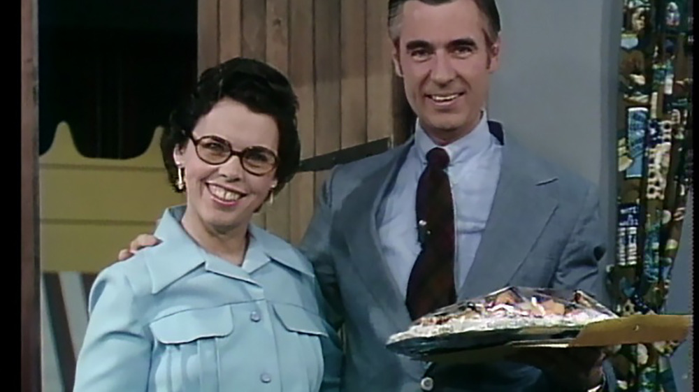 Joanne and Fred Rogers smiling