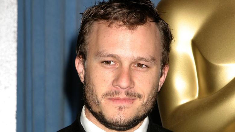 Heath Ledger smiling