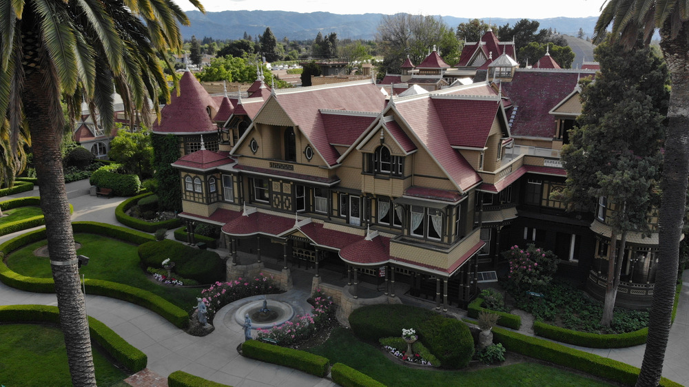 Winchester Mystery House aerial view
