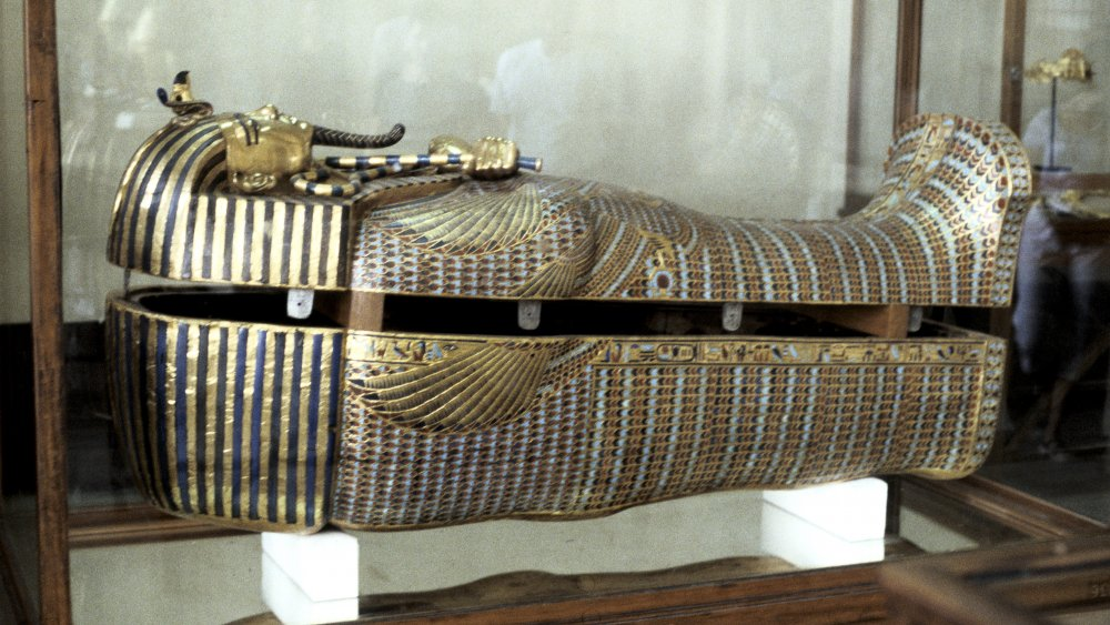 Sarcophagus of King Tut