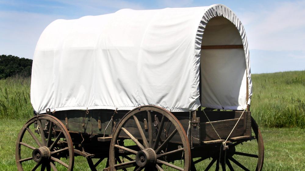 Covered wagon, Oregon Trail