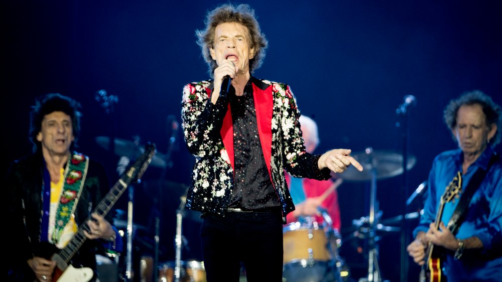 The Rolling Stones performing live