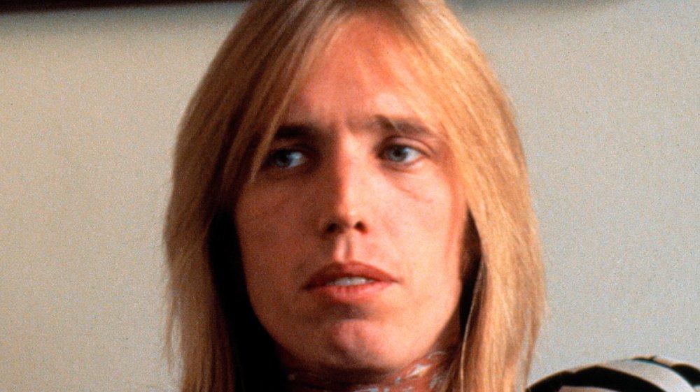 A close-up shot of Tom Petty