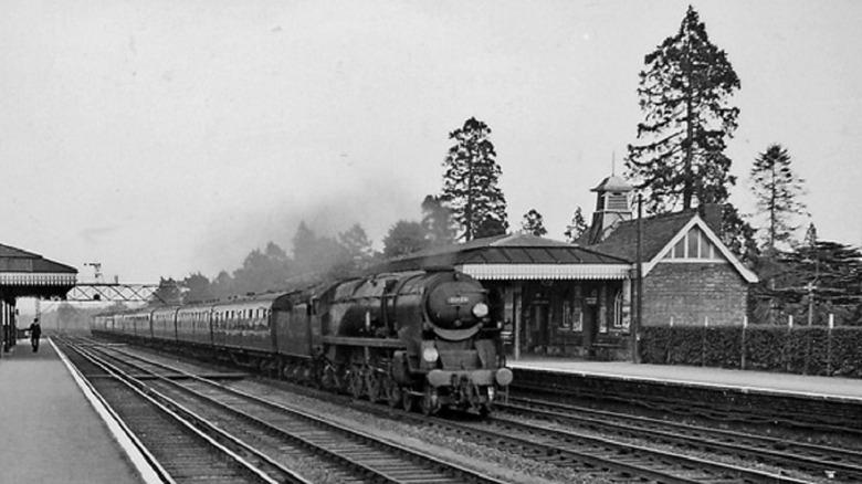 Brookwood Railway Station