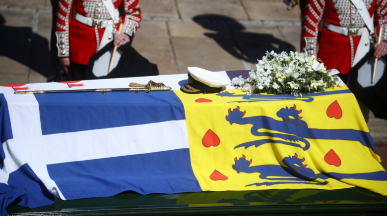 Prince Philip coffin