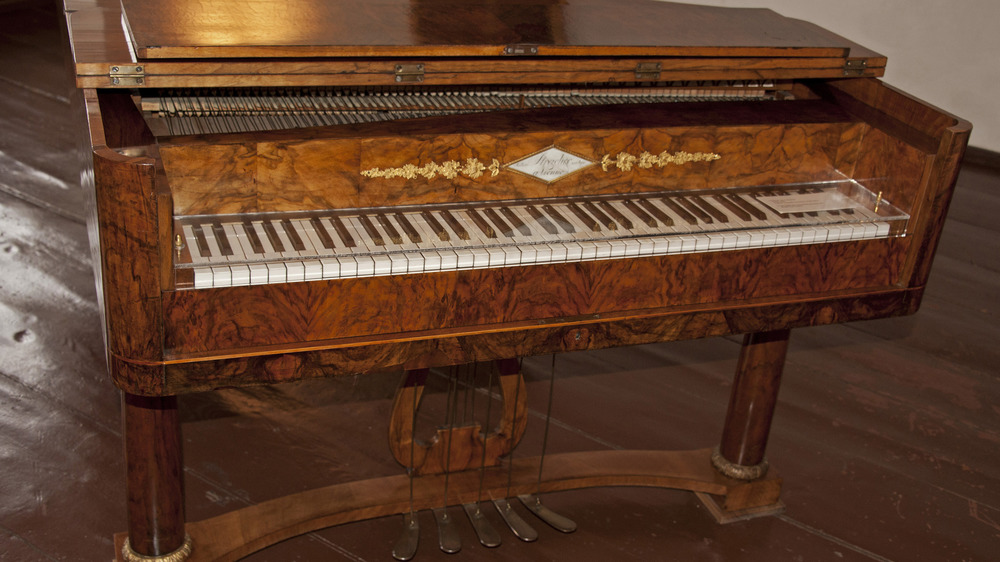 Beethoven Museum ornate piano