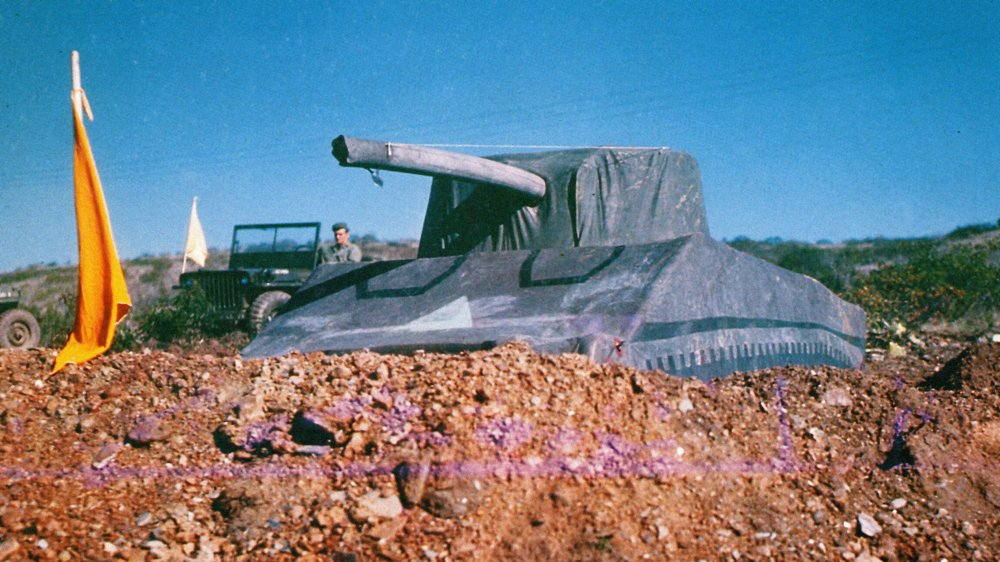 Dummy tank from Operation Fortitude