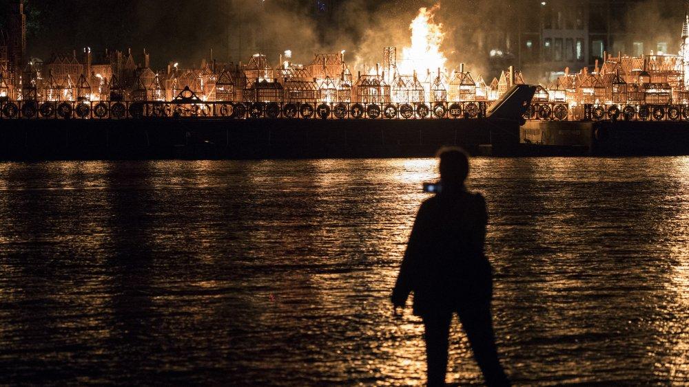 london fire reenactment