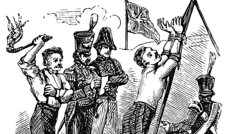 Порка 19 века