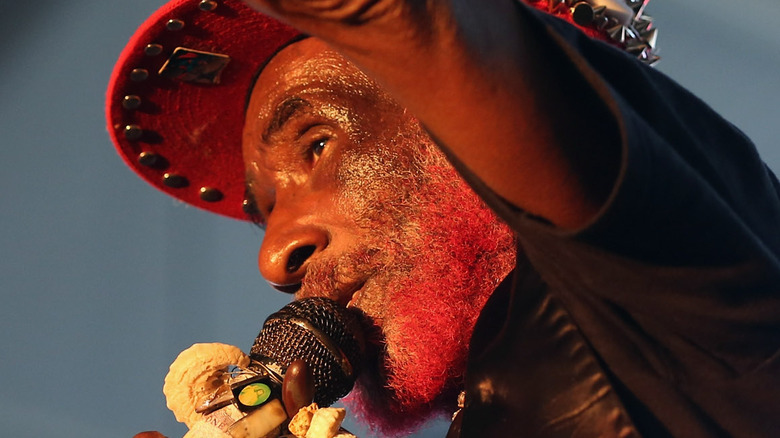 Lee Scratch Perry performing in 2013