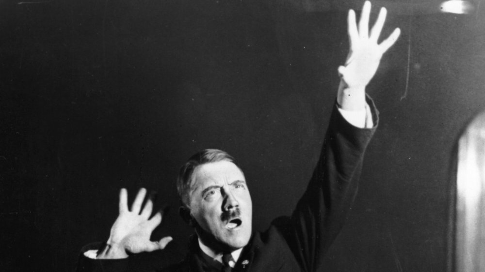Hitler performing his one man show