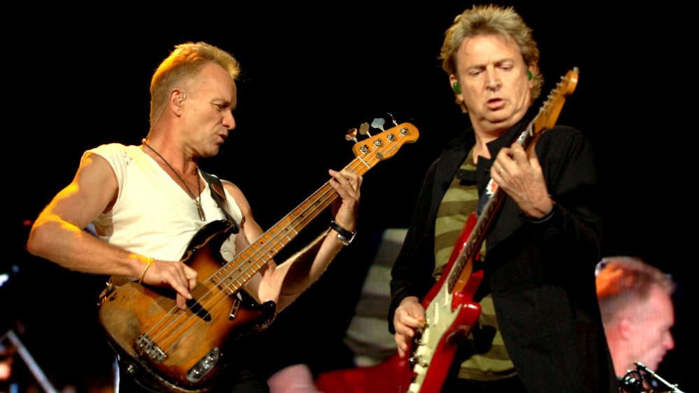 The Police performing in 2007