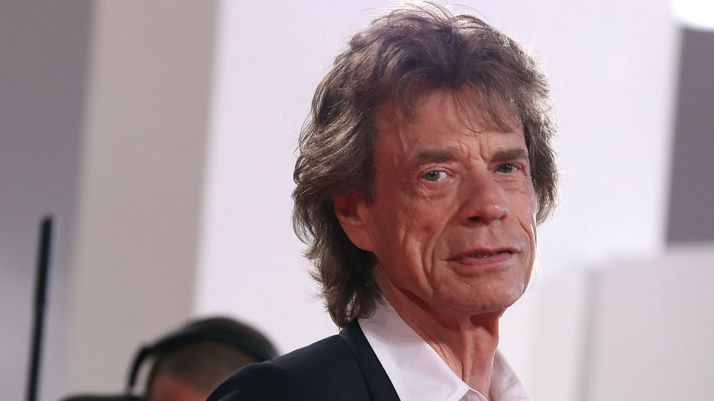 probably too close to mick jagger