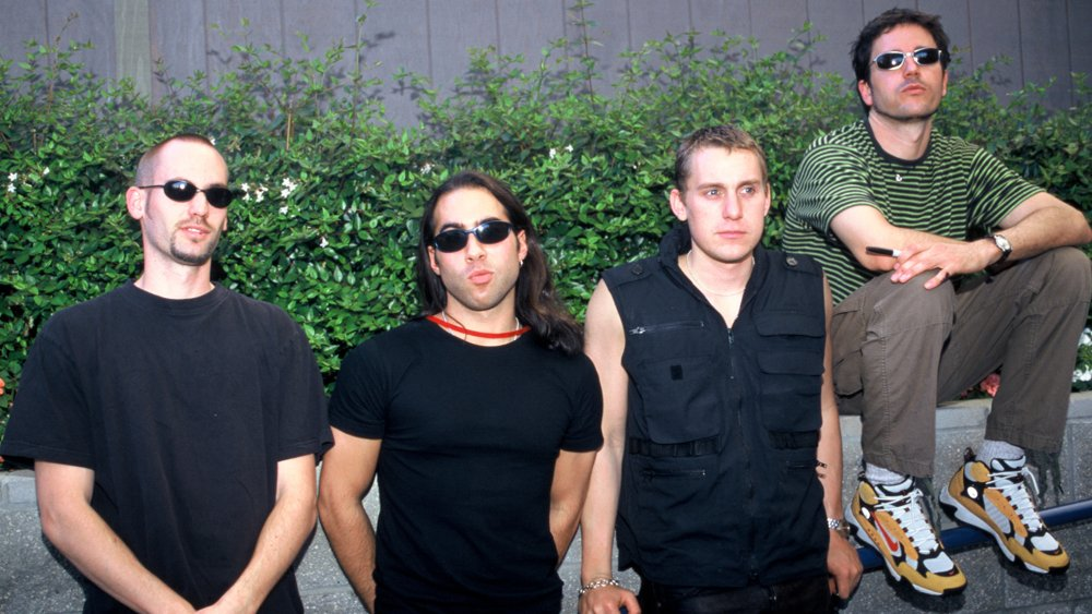 Third Eye Blind in 1997 at Mountain View's Shoreline Amphitheater.