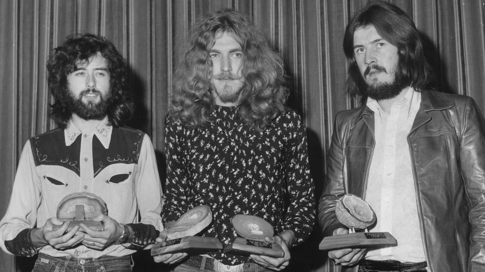 Jimmy Page, Robert Plant, John Bonham, 1970