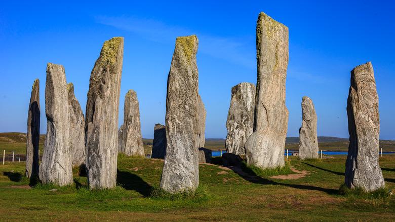 Scotland's Callanish Stones.