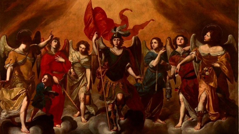 painting of the seven archangels