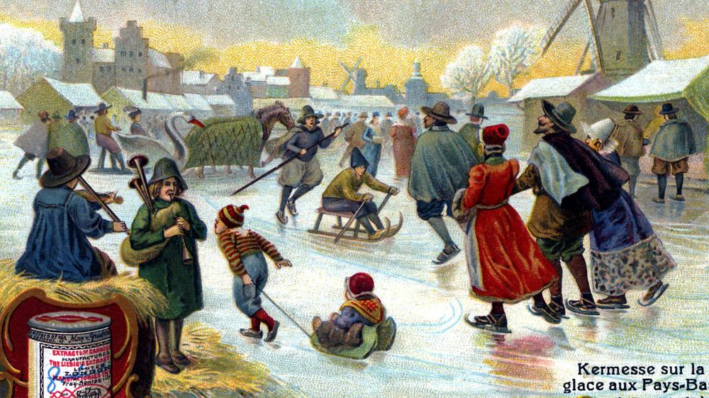 Old-timey skating