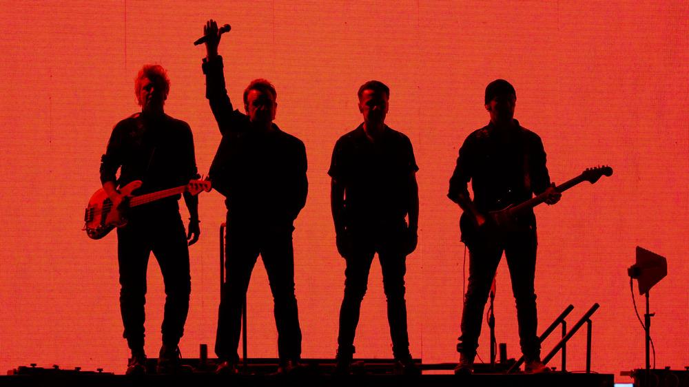 U2 performs, 2019