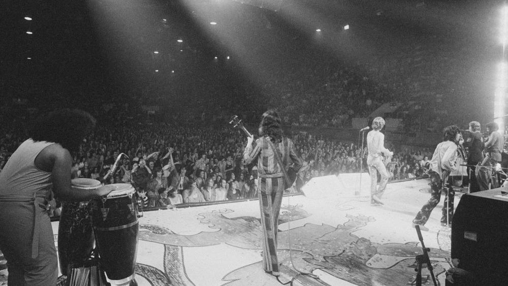 The Rolling Stones performing
