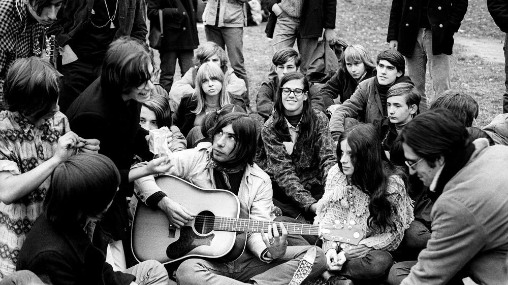 Thompkins Square Park circa 1968
