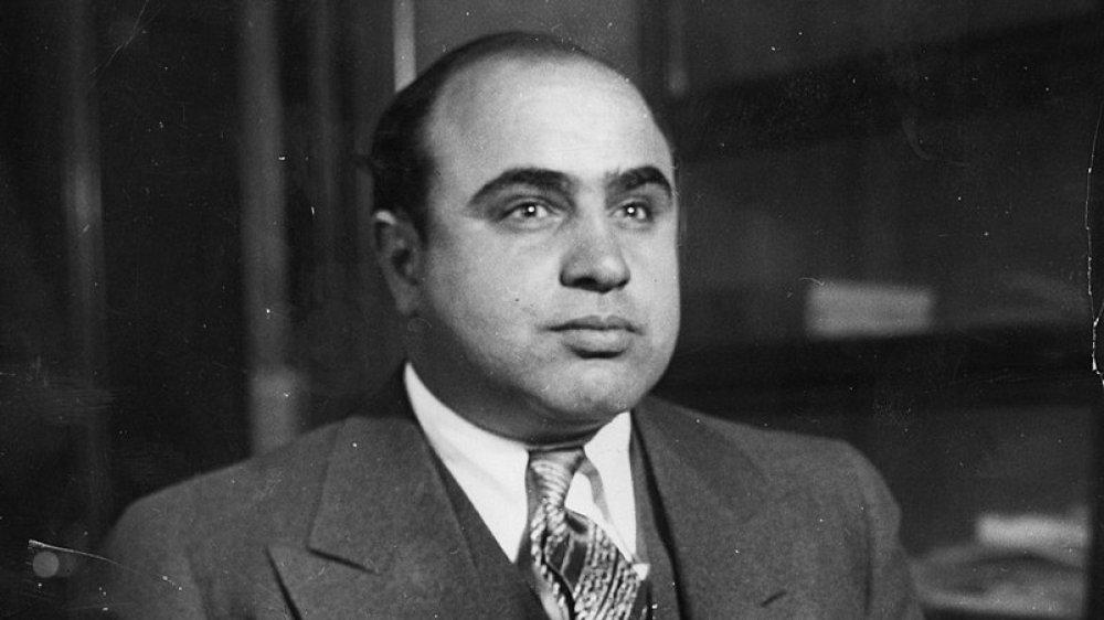 Al Capone right profile