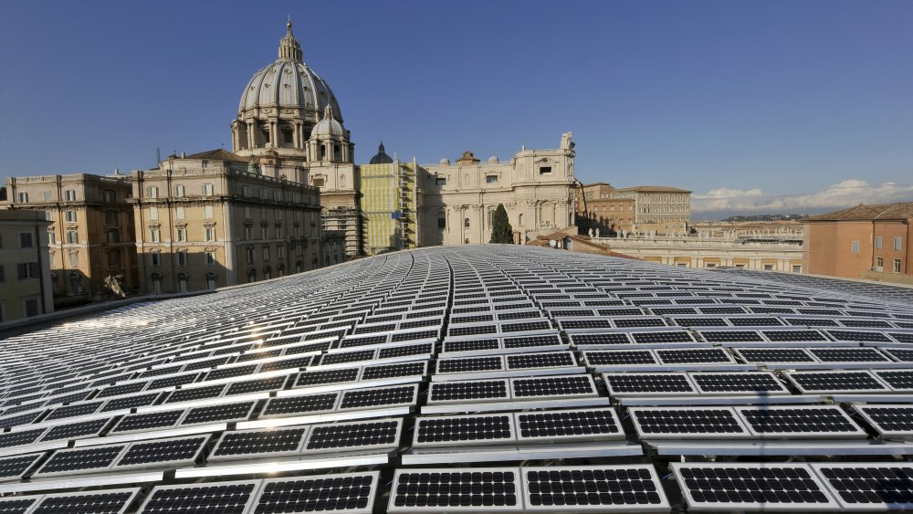 Vatican solar panels