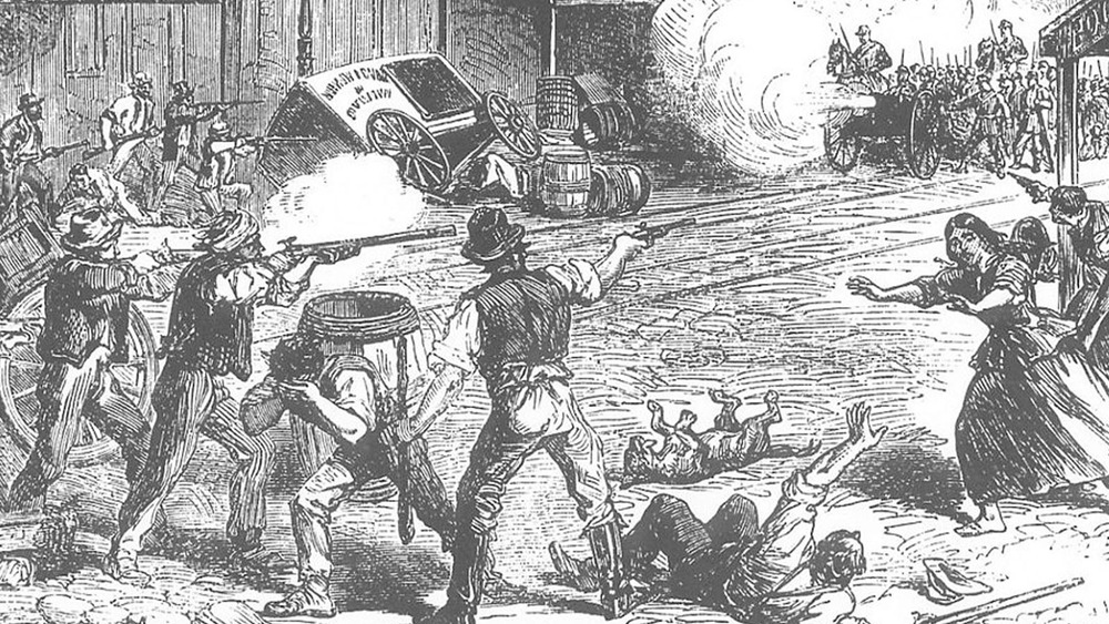 the 1863 New York riots