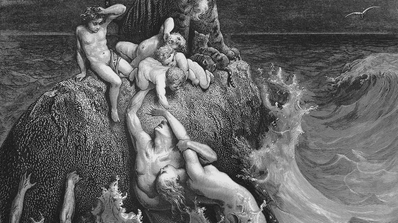Illustration of the Biblical Flood