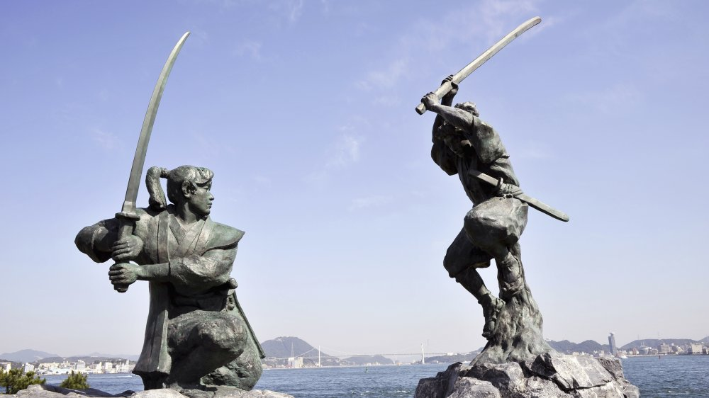 The Duel Monument Of Ganryu Island