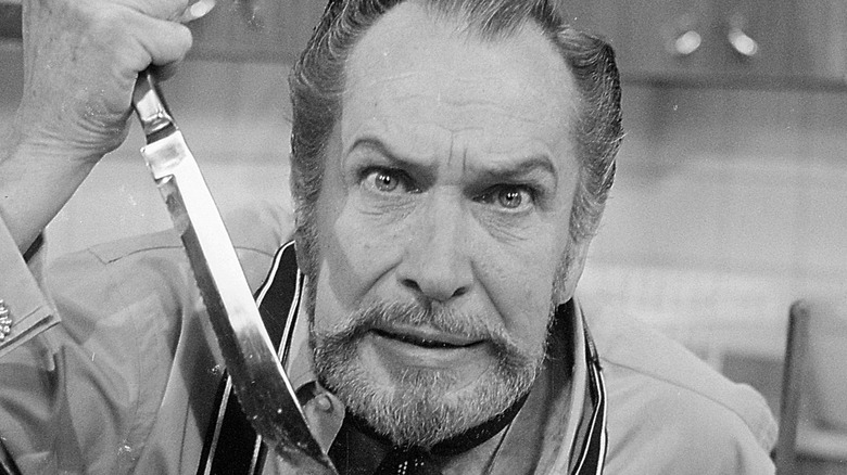 Vincent Price in the kitchen