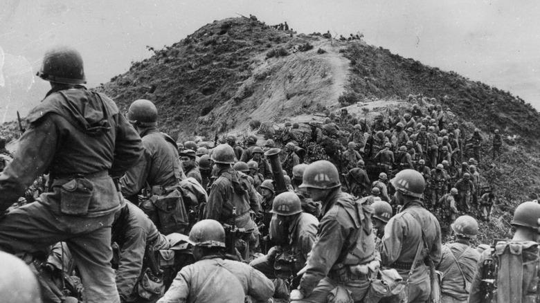 U.S. soldiers in the Korean War